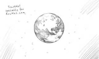 How To Draw Earth Earth Planet Drawing