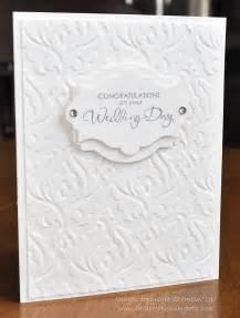 wedding card card creations by beth simple wedding card