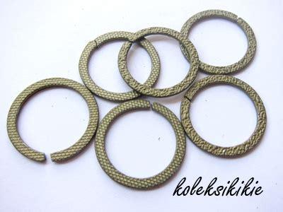 Kait Gantungan Kunci Push Gold ring besi mb corak koleksikikie