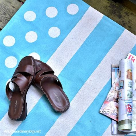 how to make a painted canvas rug how to make a painted canvas floor cloth rug whimsical an extraordinary day