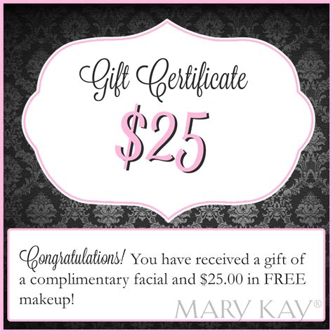 Mary Kay Gift Card - our unit favorites rosa lamb