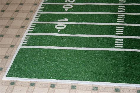 How To Make A Table Football Out Of Paper - 25 best ideas about football field on