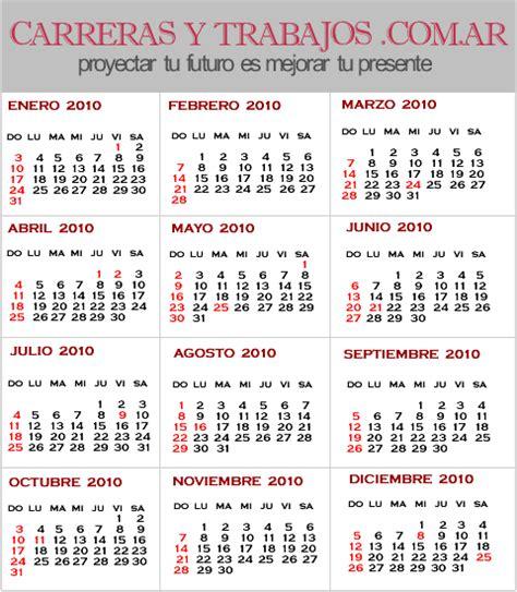 Calendario Noviembre 2010 Almanaque 2010 Taringa