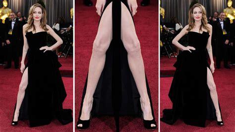 Angelina Leg Meme - angelina s right leg poised to supplant all creative arts forever