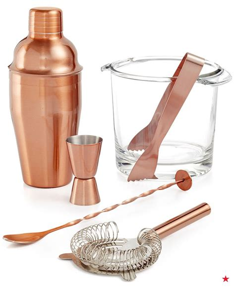 luminarc s copper barware collection offers a vintage