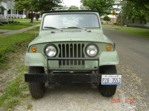 Jeep Corporation Contact Find Used 1969 Jeepster Commando 2 Door Kaiser Jeep
