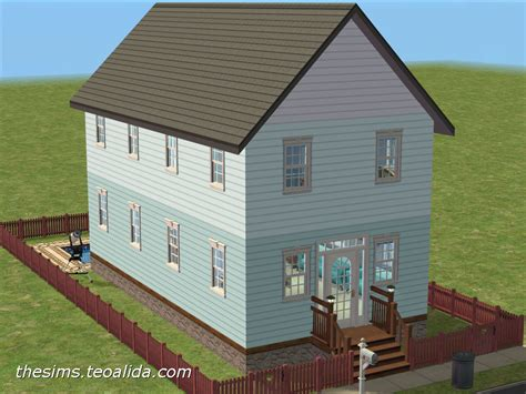 Rectangular Kitchen Design tiny house iv the sims fan page