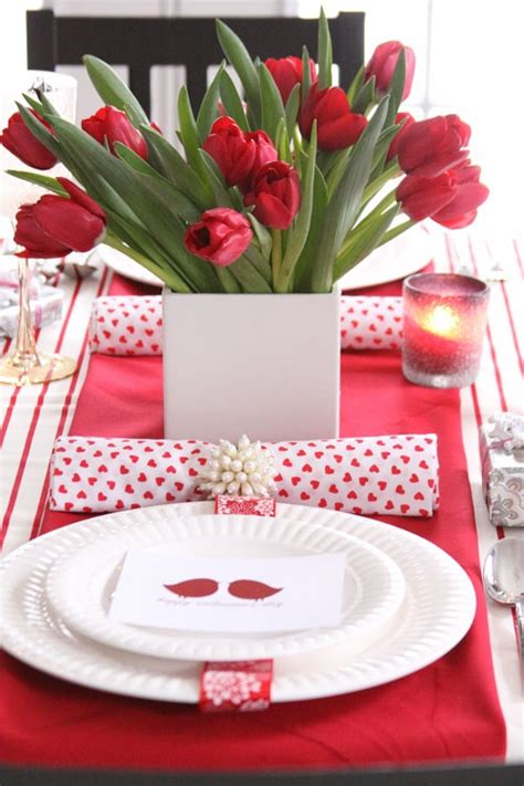 59 valentine s day table settings digsdigs