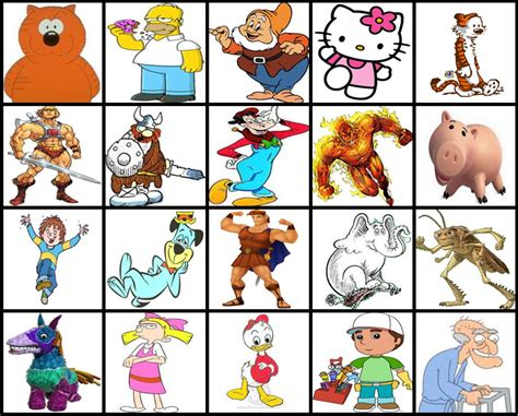 Disney Character Letter H characters that start with the letter i