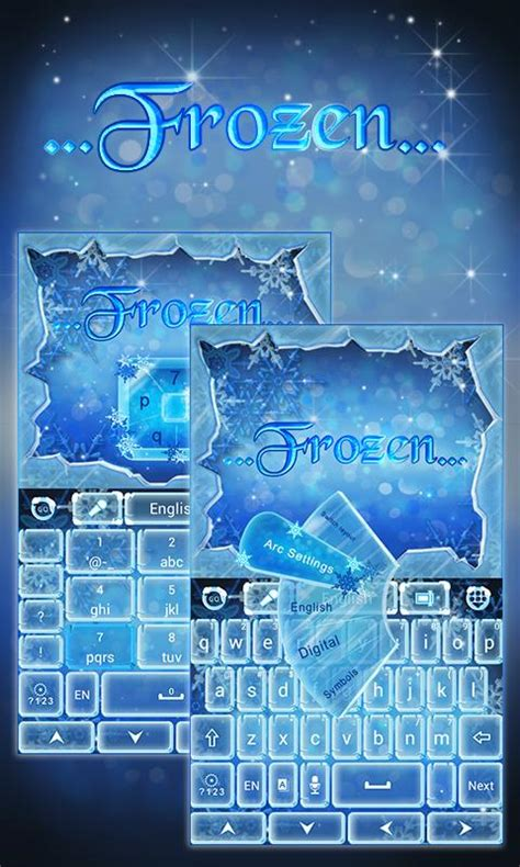theme line android frozen frozen go keyboard theme android apps on google play