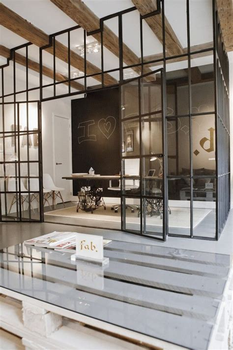 interior window wall a statement separation wall sophisticated and