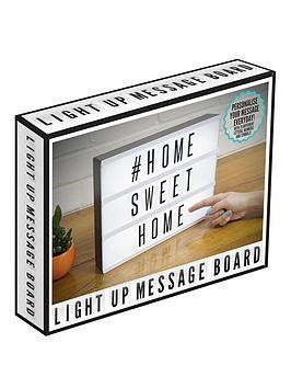 message board light up light up cinematic message board littlewoodsireland ie