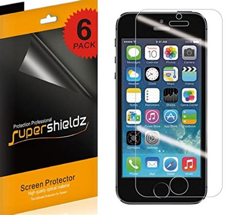 Anti Glare Screen Protector Iphone 5c supershieldz anti glare matte screen protector for iphone