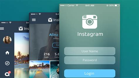 q design instagram instagram design concept puts your photos at the forefront