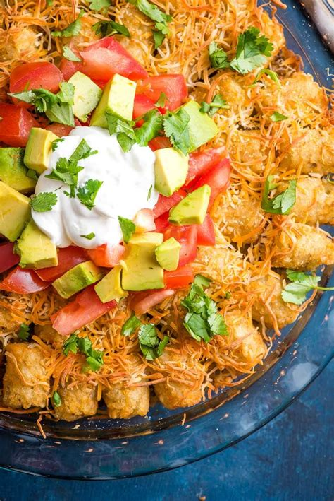 taco tater tot casserole neighborfood
