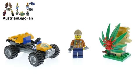 Lego 60156 Jungle Buggy Lego City lego city 60156 jungle buggy lego speed build review