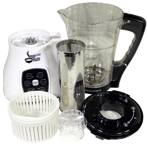 Blender Plus Juicer jumpstart soup mate pro cold blender juicer steamer