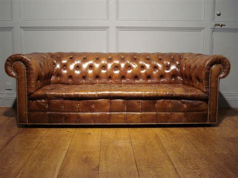 Brown Vintage Leather Sofa by Brown Leather Chesterfield Sofa Vintage Brown Leather