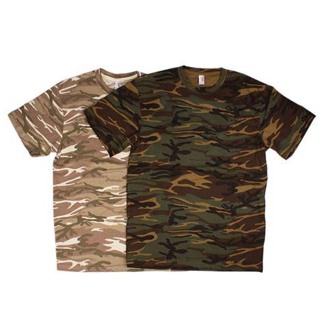 Camo Shirts Custom Printed Anvil Heavy Camo T Shirts Awesome Merchandise