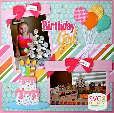 scrapbook layout birthday scrapbook cover page designs for birthday www pixshark