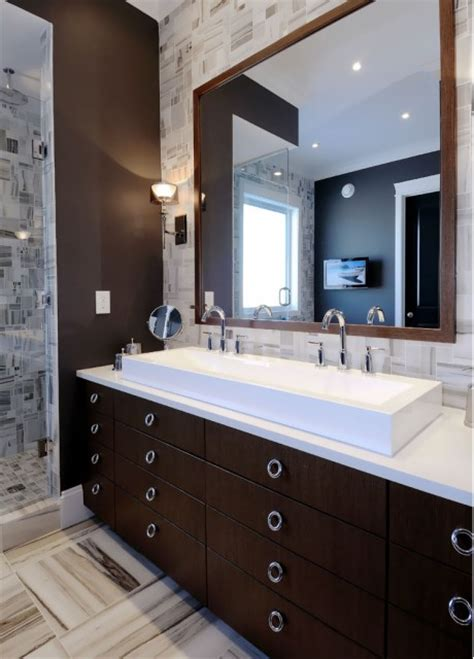espresso bathroom cabinet design ideas