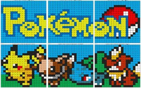 pokemon color by number coloring squared