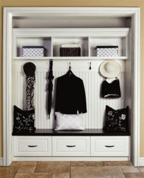How To Wardrobe Makeover by Entry Closet Makeover Home Decor