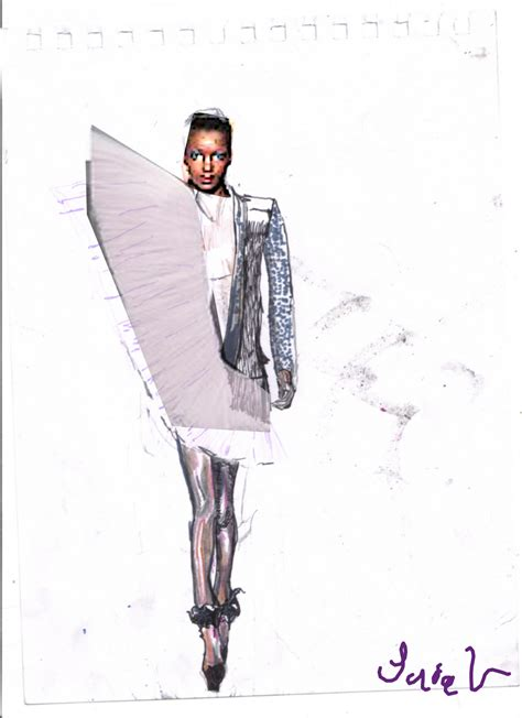 Victor Rolf For Hm by Victor Rolf Summer 2010 Illustration Review