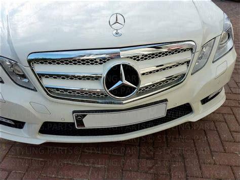 Emblem Kap Original Mercedes W212 mercedes w212 e klasse k 220 hlergrill chrom weiss grill im