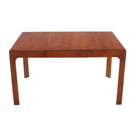 henredon square dining table with one extension board for