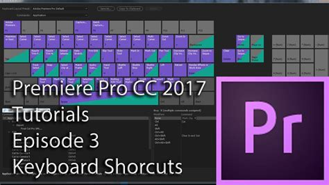 adobe premiere pro hotkeys e3 keyboard shortcuts adobe premiere pro cc 2017 youtube
