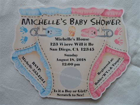 Personalized Baby Shower unique personalized baby shower invitations