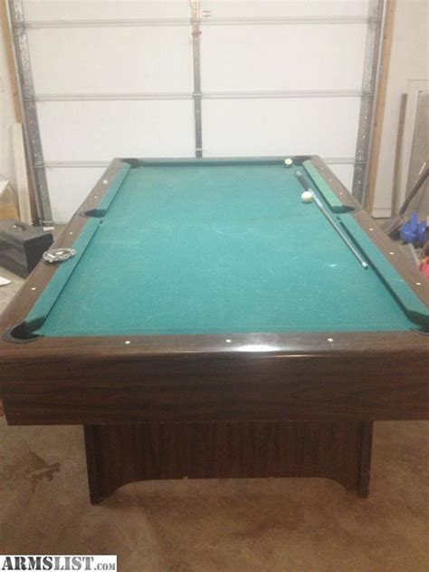 armslist for sale 1 slate pool table for ar or