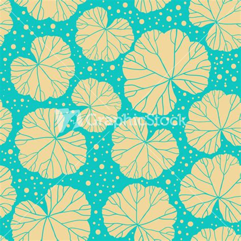 abstract leaf pattern seamless leaf pattern abstract ornament stock image