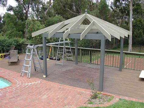 building a gazebo building do it yourself for the outdoor gazebo flickr