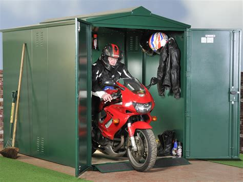 Motorbike Shed by How To Build A Motorcycle R For A Shed Learn Basic