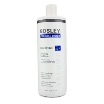 volumizing shoo for color treated hair professional strength bos revive volumizing conditioner