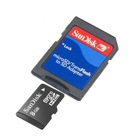 Micro Sd Card Sandisk 8gb buy sandisk 8gb micro sd with adaptor at ijt direct