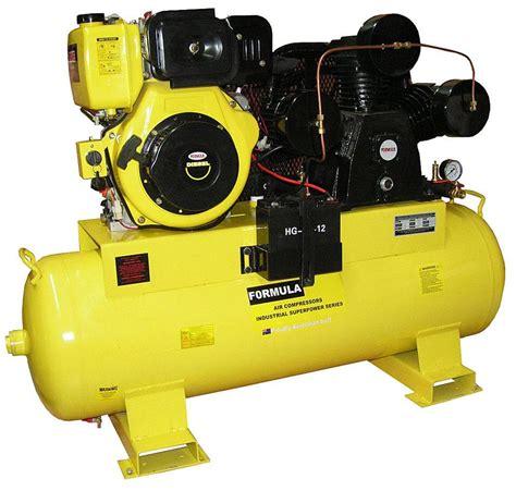 air compressor 11hp diesel 45 cfm 160 litre tank brand new ebay
