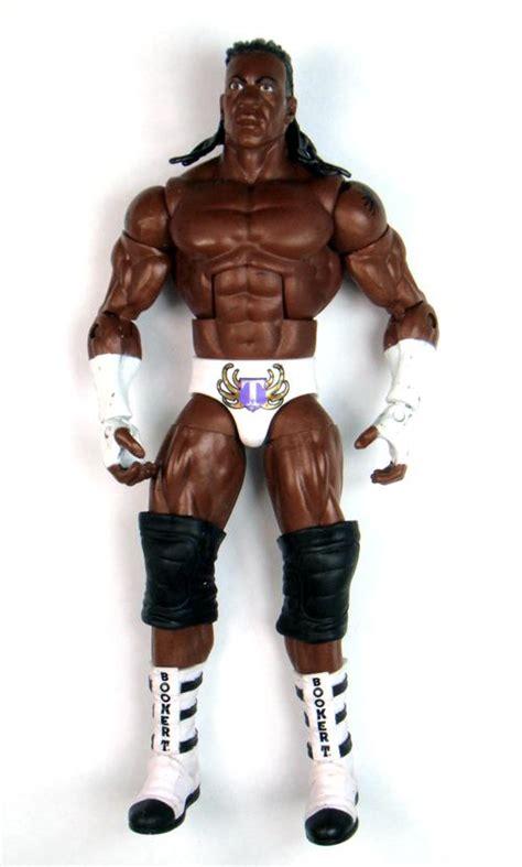 booker t figure king booker t wrestler elite figure