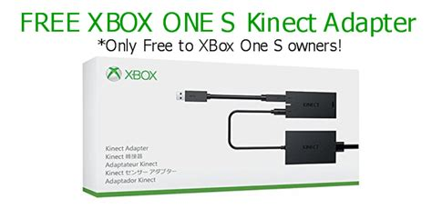 Xbox One S Kinect Adapter by Expired Free Xbox One S Kinect Adapter Freebie Bin