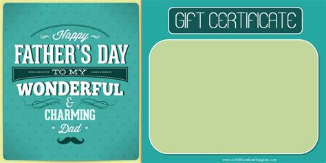 S Day Gift Card Template by S Day Gift Certificate Templates Page 2 Of 4
