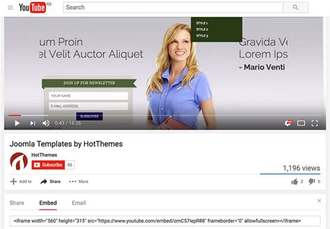 joomla tutorial youtube video youtube video in joomla hotthemes