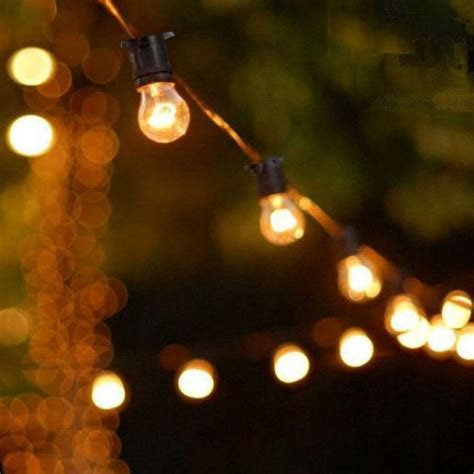 festoon party lights 20m long hire melbourne