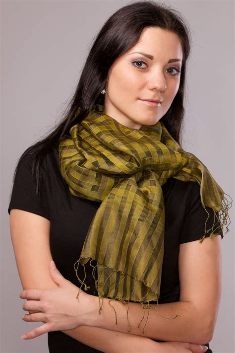 akash silk scarf sevya fair trade wholesale