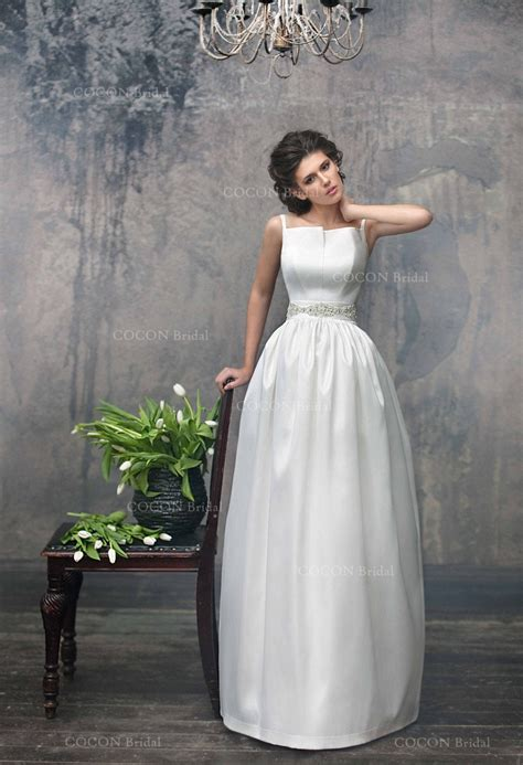 simple chic wedding dress  mikado designer dress unique