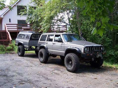 customized jeep cherokee custom xj trailer concept page 4 jeep cherokee forum