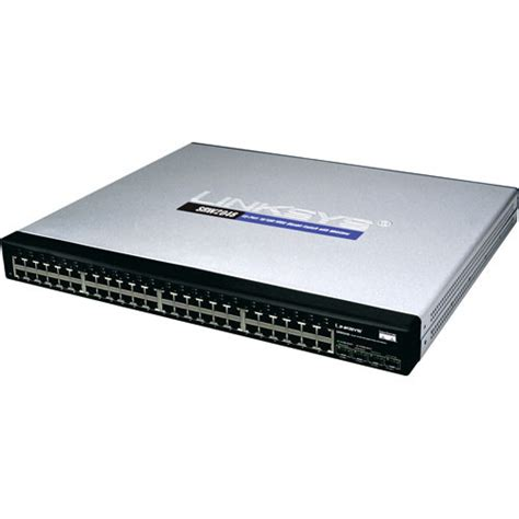 Switch Hub Gigabit 48 Port cisco 48 port 10 100 1000 managed gigabit switch srw2048 b h