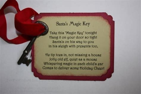 printable santa key template magic key on pinterest santa key keys and google