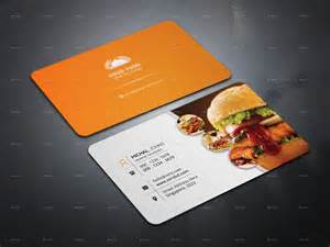 business card for restaurant restaurant business cards designs creativetemplate